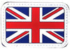 AEX UK Flag Patch Left