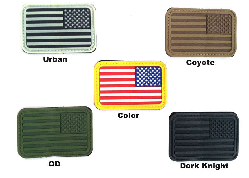 AEX USA Flag Patch Right