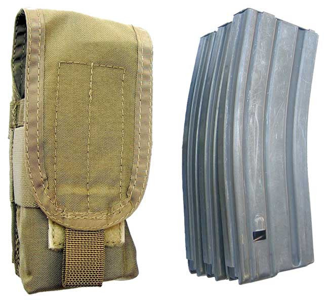 SOTech BLOCS 3X Mag Pouch Coyote