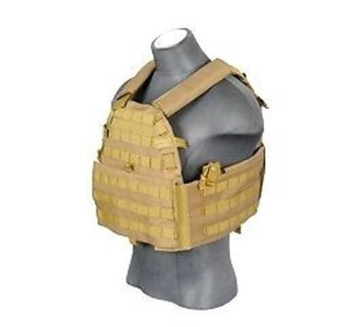 Lancer Tactical 6094 Plate Carrier TAN