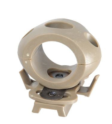 Lancer 1.2in Light Helmet Clamp TAN