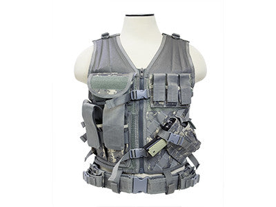 NC Star Cross Draw Tac Vest, Large, DIGI
