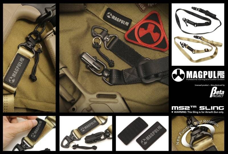 Beta Project MS2 Green Label Sling Black