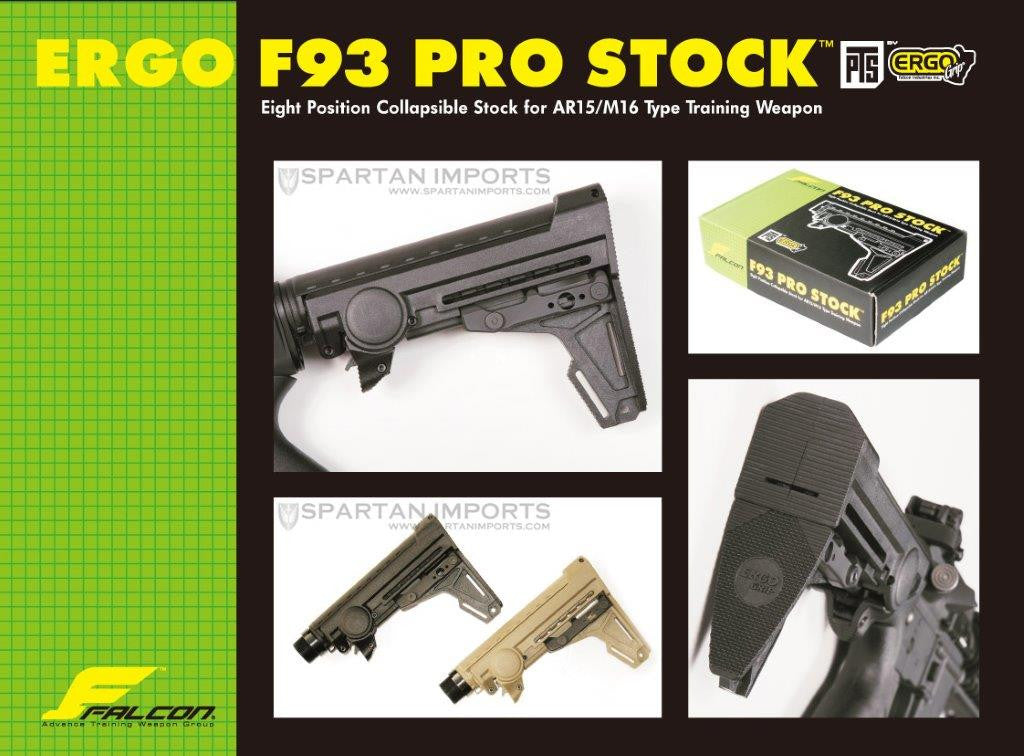 PTS Ergo F93 Stock for GBB