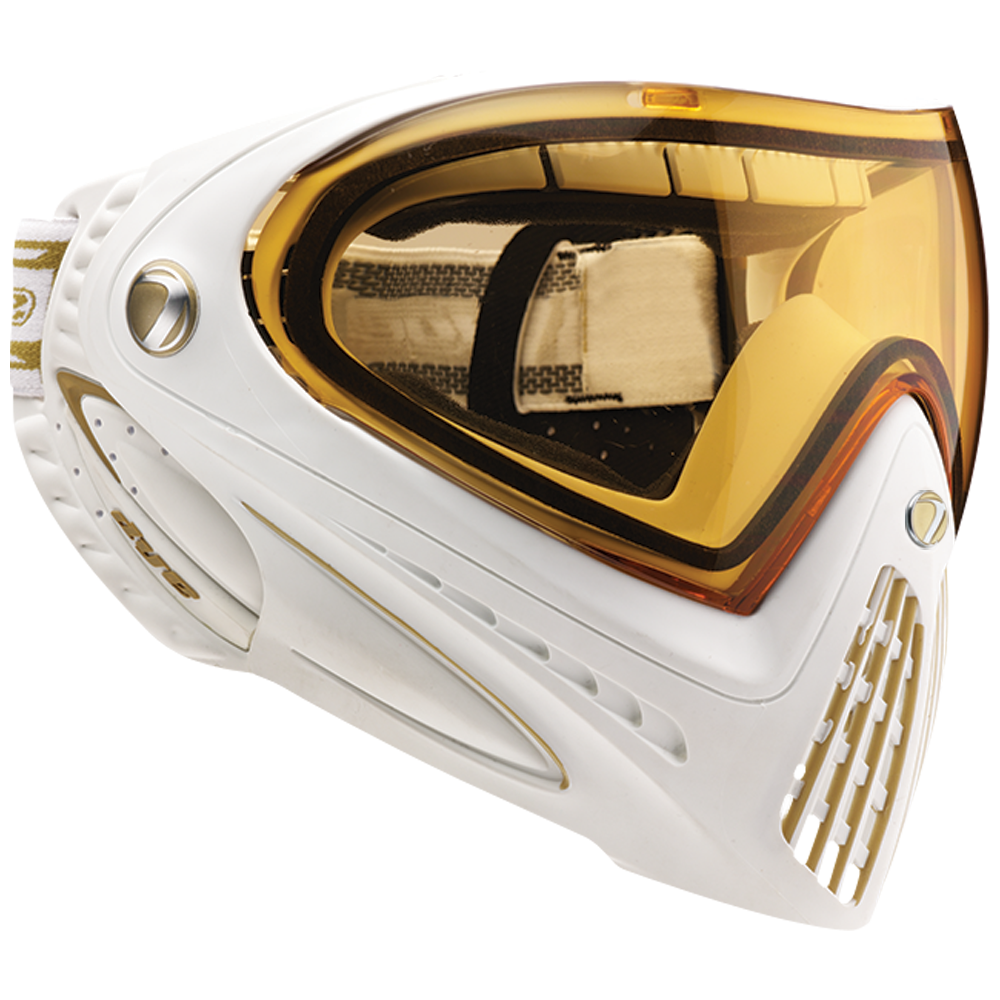 DYE Thermal I4 Mask WHITE/GOLD