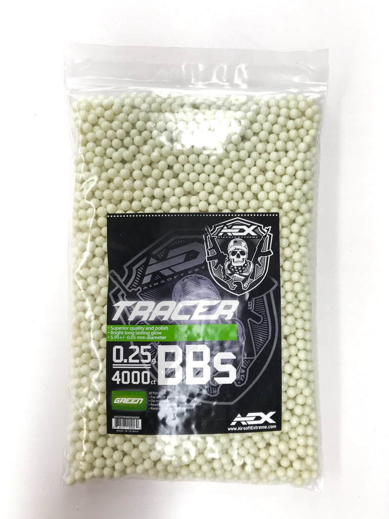 AEX Tracer BBs .25g / 4000ct