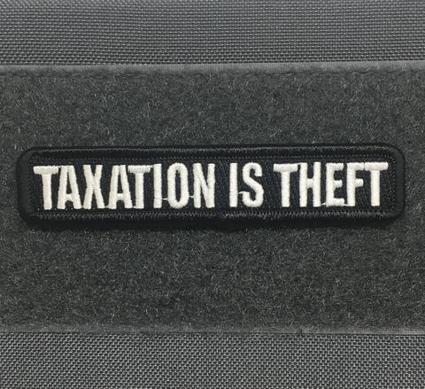TOF Taxation Is Theft Morale Patch