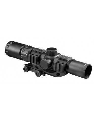 AIM 1.5-4X30 dual illum CQB scope w/mnt