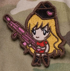 MSM Gun Girl Patch
