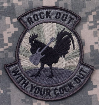 MSM Rock Out Patch