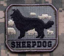 MSM Sheep Dog Patch