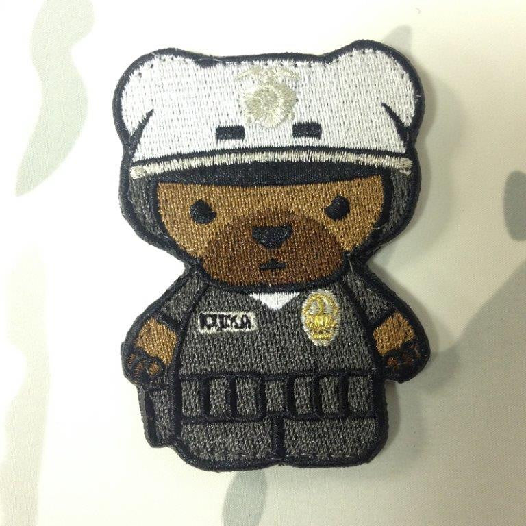 OI Kuma Korps - Police Bear Patch