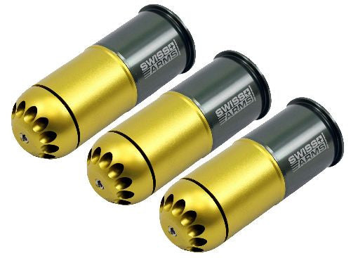 Swiss Arms 40mm 120rd Grenade Shell 3Pack