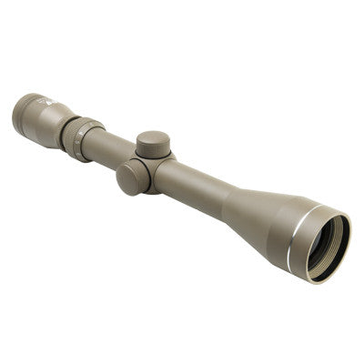 3-9x40 P4 Full Size Scope TAN