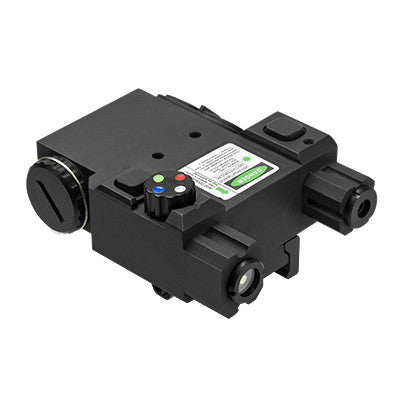 NcStar tactical green laser box w/nav LED