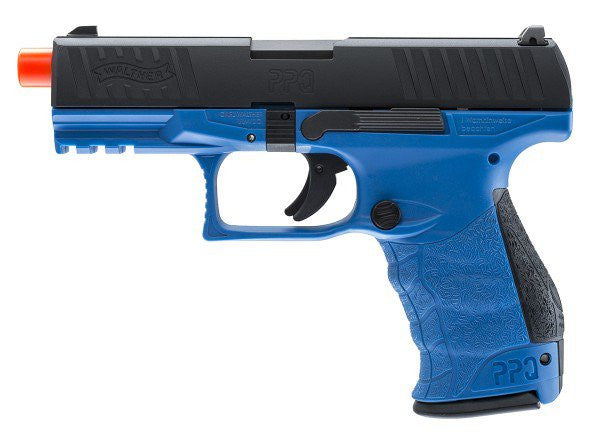 Walther PPQ MOD2 GBB by VFC, Blue