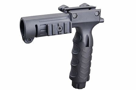 TRN Flashlight Mount Vert Grip BLK
