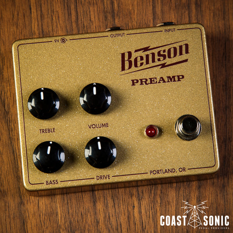 Benson Amps Preamp Gold
