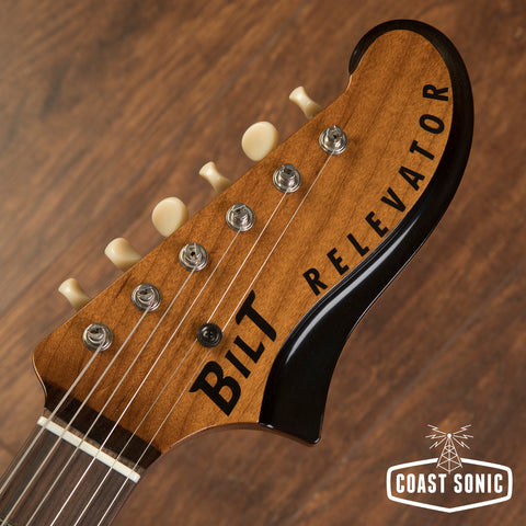 Bilt Guitars Relevator Roasted  Cypress  w/bigsby & Lollars