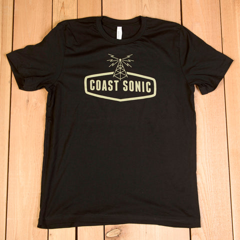 "Coast Sonic ""OG"" T-Shirt, black"