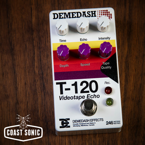 Demedash Effects T120 Videotape Echo