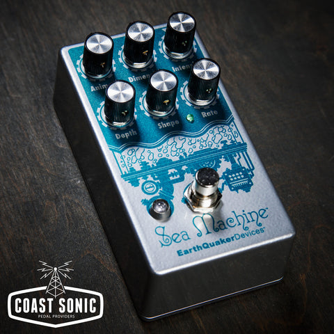 EarthQuaker Devices Sea Machine V3 Mega chorus