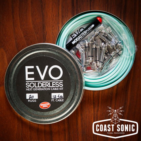 Disaster Area EVO Solderless Cable Kit 20 plugs
