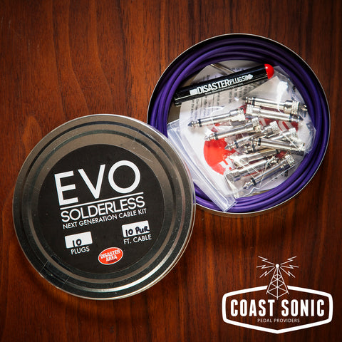 Disaster Area EVO Solderless Cable Kit 10 plugs