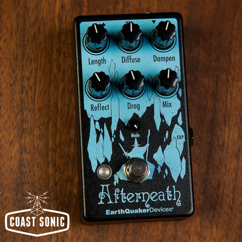 EarthQuaker Devices Afterneath Reverb V3 *custom color*