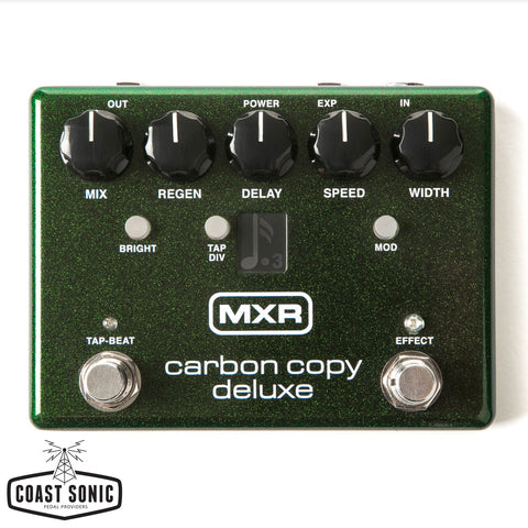 MXR Carbon Copy Deluxe Analog Delay