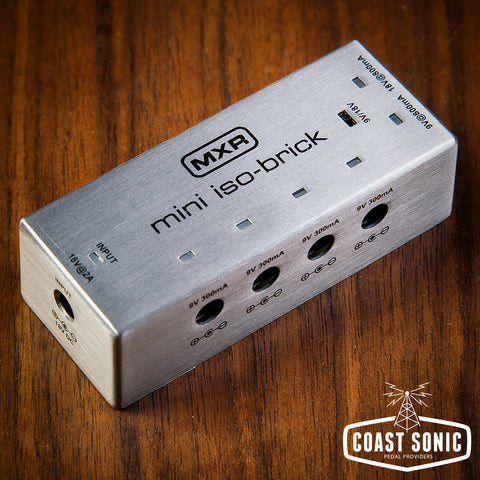 MXR Mini ISO-Brick Power Supply