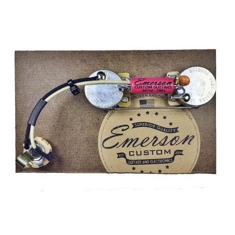 Emerson Custom P Bass Prewired Kit