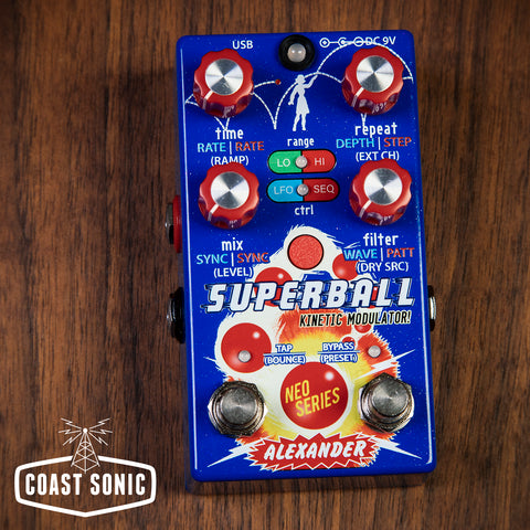 Alexander Superball Kinetic Modulator