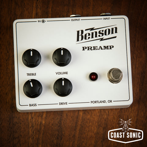 Benson Amps Preamp *Tuxedo Limited Edition*