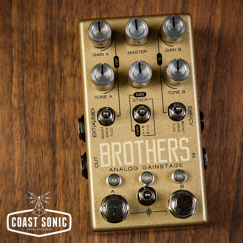 Chase Bliss Brothers Analog Gain Stage