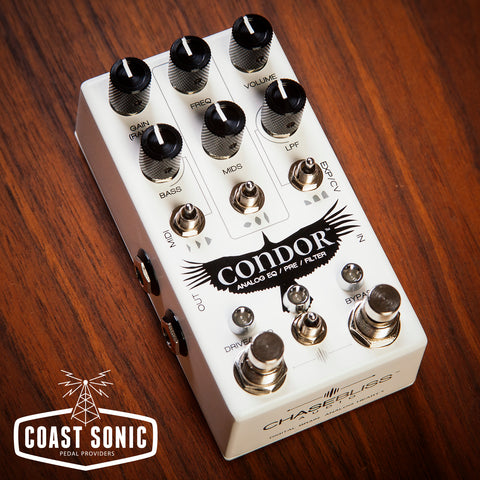 Chase Bliss Audio Condor Analog Pre EQ Filter