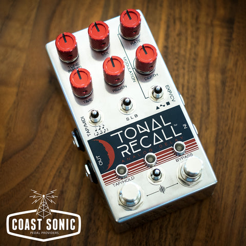 Chase Bliss Tonal Recall RKM (red knob mod)