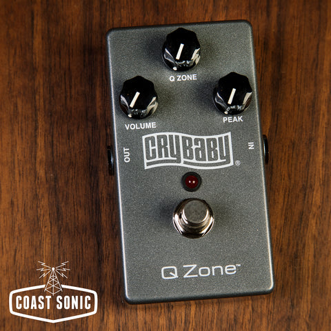 Dunlop Cry Baby Q-Zone Fixed Wah Pedal QZ1