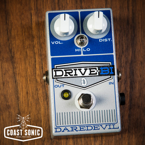 Daredevil Pedals Drive-Bi Dual Channel Gain