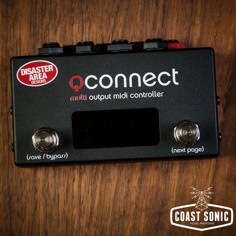 Disaster Area  qCONNECT Quarter-Inch MIDI Interface and Controller