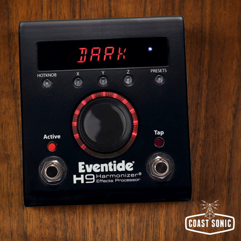 Eventide Limited Edition Dark H9 Max Harmonizer Multi-Effects Pedal
