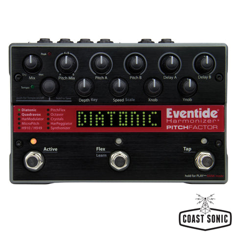 Eventide PitchFactor Harmonizer with Pitch Shifting + Delay