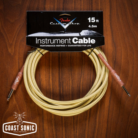 Fender Custom Shop Cable 15' Tweed