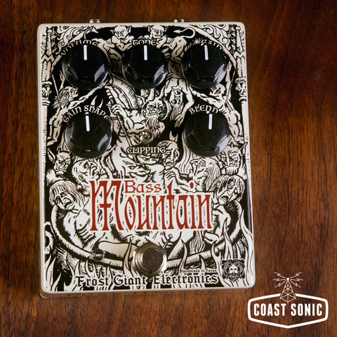 Frost Giant Electronics Bass Mountain Distortion