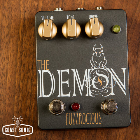 Fuzzrocious Pedals Demon with Gate Boost Mod