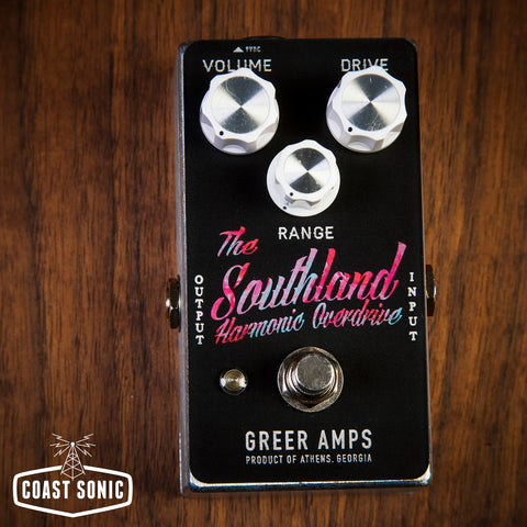 Greer Amps Southland Harmonic Overdrive  **Limited Edition Tie-Dye