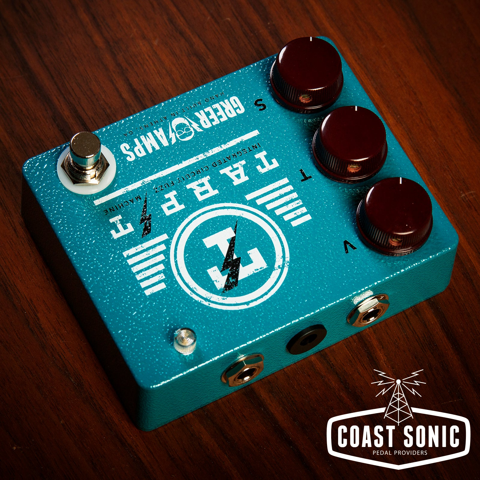 Greer Amps Tarpit Integrated Circuit Fuzz Machine Images Of