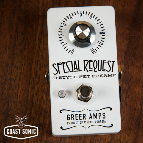 Greer Amps Special Request Dumble Style Preamp