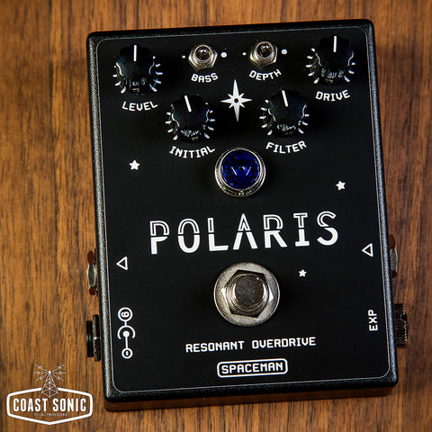 Spaceman Effects Polaris Resonant Overdrive Black Edition