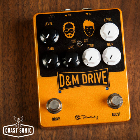 Keeley Electronics D&M Drive and Boost